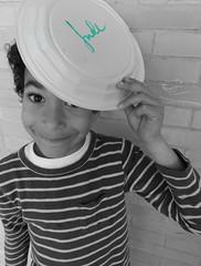 Jude, the apple of my eye (#MariaOrtega) Tags: boy portrait ny cutout kid funny child retrato newyorker jude theappleofmyeye eyjude