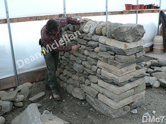 WM Dean Mclellan 7, Cheekend, freestanding wall, dry laid stone construction, copyright 2014