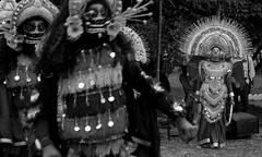 Chhauni. (Shonkho) Tags: winter bw dance stage performingarts martialarts masks kolkata westbengal jharkhand bhubaneshwar chhau odisha srfti