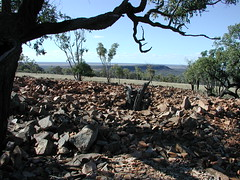 Rocky view from top of Mt Oxley (spelio) Tags: mountain mt general random hill rocky australia selection nsw outback remote oxley