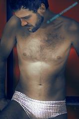 SHADOWLINE II (J#K) Tags: shadow portrait man male fashion underwear artistic ombre mode homme artistique masculin sousvêtement