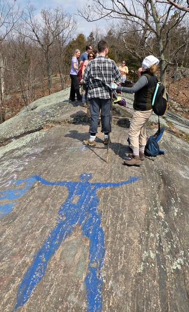 Blue Man Rock