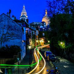 Place Dalida (davecurry8) Tags: nightphotography paris france night montmartre sacrecoeur placedalida