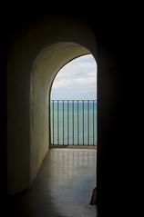 Beyond (yarnzombie) Tags: old de puerto site nikon san juan historic rico doorway national april viejo morro 2014 d5100