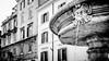 Rione Monti - IMG_3732 (Nicola since 1972) Tags: italy rome roma fountain blackwhite italia 169 fontana lazio monti rione