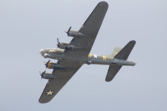 """Boeing B-17G Flying Fortress G-BEDF/124485/DF-A """"Sally B"""" (NTG's pictures) Tags: station flying day open force air royal boeing bomb heavy fortress squadron centenary sallyb b17g northolt 324th gbedf124485dfa"""