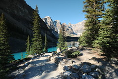 Moraine lake Alberta Canada July 4th 2015 (davebloggs007) Tags: lake canada 4th july alberta moraine 2015