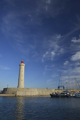 Sous l'oeil du phare (Michel Seguret Thanks for 14.6 M views !!!) Tags: sunset france port puerto boot boat nikon harbour sete coucher pro bateau barque d800 hérault michelseguret