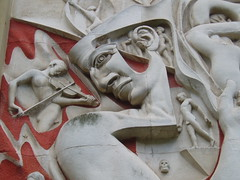 The Mind of Man, Coventry (Aidan McRae Thomson) Tags: sculpture modern relief coventry warwickshire walterritchie herbertmuseumartgallery