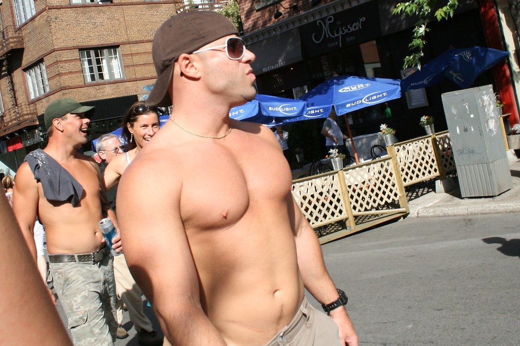 Montreal muscle hunk