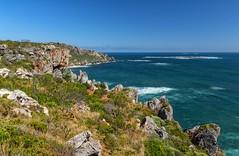 Limestone coastline (Ralph Green) Tags: australia dentecasteauxnationalpark westernaustralia landscape limestonecliffs seascape greatphotographers