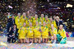 Netball (International World Games Association) Tags: 2015 allphonesarena australia day10 newzealand sydney wilkinson worldcup netball sydneyolympicpark nsw au