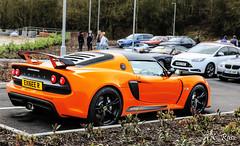 Stand Out Colour (ak_russ) Tags: lotus exige orange parked parking carpark car cars autos auto supercar spotter spotted supercars spoiler pistonheads prodrive event