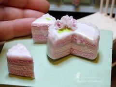 P1050256 (Zulifa miniatures) Tags: торт кукольнаяминиатюра полимернаяглина ручнаяработа эксклюзив cake polymerclay handmade exclusive