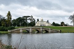Stoke Park Hotel & Spa (terrydevonshire) Tags: water lake bridge arches hotel architecture golf course spa sky building grass tourism mansion