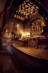 MAB_110422_9014 (Custody of the Holy Land - Photo Service (CPS)) Tags: basilicaofresurrection churchofholysepulcher churchofholysepulchre fisheye holyland holysepulcher holysepulchre holysite terrasanta terresainte candels candle candles empty holyplace oillamp oillamps sanctuary tombofchrist vertical
