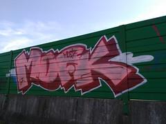 MDFK (Graffiti Ferrolterra) Tags: graffiti ferrolterra ferrol tags throwup bombing graff