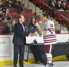 Hockey vs. Providence 2/24 (dailycollegian) Tags: hockey providence umassathletics umass umassamherst universityofmassachusetts jessicapicard 22417 mullinscenter coach greg carvel steven iacobellis 16