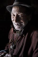 Monastery's guardian (ONINOT) Tags: monastery guardian ladakh basgo gompa