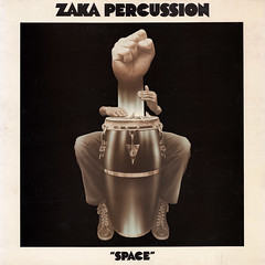 Zaka Percussion - Space (oopswhoops) Tags: vinyl album french percussions afro afrocuban zaka