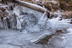 Sculture di ghiaccio (cesco.pb) Tags: valdifunes dolomiten dolomiti dolomites alps alpi canon canoneos60d tamronsp1750mmf28xrdiiivcld sudtirol altoadige italia italy inverno winter ghiaccio ice montagna mountains