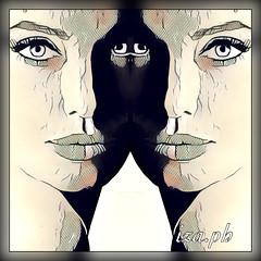 #iza.ph#art  # angelinajolie# angelinajoliepitt (iza.ph) Tags: surreal angelinajolie abstract izaph