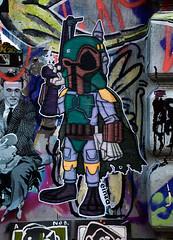 HH-Wheatpaste 3203 (cmdpirx) Tags: hamburg germany reclaim your city urban street art streetart artist kuenstler graffiti aerosol spray can paint piece painting drawing colour color farbe spraydose dose marker stift kreide chalk stencil schablone wall wand nikon d7100 paper pappe paste up pastup pastie wheatepaste wheatpaste pasted glue kleister kleber cement cutout
