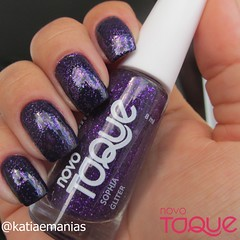 Glitter Sophia (Novo Toque) (katiaemanias) Tags: novotoque glitter katiaemanias unhas unha esmalte esmaltes polish nailpolish nails nail