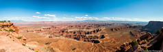 DSC_1687-Pano.jpg (brassshadow) Tags: utah landscape grandviewpointoverlook nature nationalpark outdoors sanjuancounty canyon overlook canyonlandsnationalpark islandinthesky moab unitedstates us