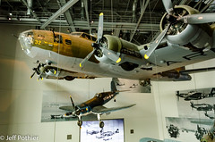 My Gal Sal (vlxjeff) Tags: b17 f4u corsair nikon d7000 neworleans museum indoors aircraft airplane wwii bomber fighter flyingfortress