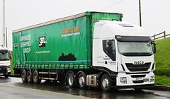 Iveco Stralis Gwynedd Shipping Dublin BU15YFX Frank Hilton IMG_5181 (Frank Hilton.) Tags: classic truck lorry eight wheel maudsley aec atkinson albion leyalnd bristol austin outside heavy haulage crane 8 axle