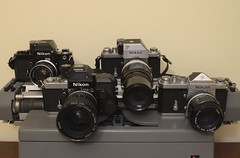 Nikon flagships (distagon500) Tags: nikon f nikonf nikonf2 nikonf2s photomic ftn dp1 dp2 ds1 70s 60s analog camera nikkor film vintage classic