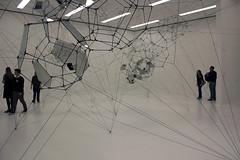 Artistic Installation (JB by the Sea) Tags: sanfrancisco california february2017 sanfranciscomuseumofmodernart sfmoma financialdistrict tomassaraceno stillnessinmotioncloudcities