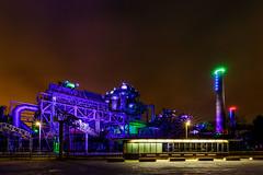 LaPaDu No. 4 - Duisburg, Germany (dejott1708) Tags: lapadu landschaftspark duisburg nord germany night shot illumination industry industrial complex