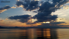 Σονάτα των συννέφων (theseustroizinian) Tags: hellas hellenic greece greek goldenhours seaside sea sunset simplysuperb seasunandclouds seascape sky clouds peloponnese reflections reflection