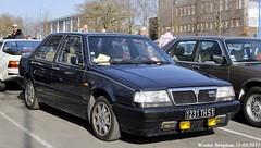 Lancia Thema 2.0 LX Turbo 16V 1989 (XBXG) Tags: 1231th51 lancia thema 20 lx turbo 16v 1989 lanciathema 30ème salon des belles champenoises époque reims marne 51 grand est grandest champagne ardennes france frankrijk old classic italian car auto automobile voiture ancienne italienne italie italia italy vehicle outdoor
