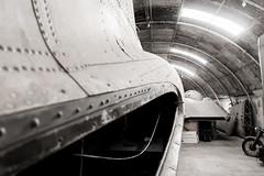 DC3 en el museo de la aviación de Malta