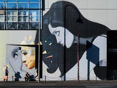 Köln, Cäcilienstrasse (Werner Schnell Images (2.stream)) Tags: ws köln cäcilienstrasse street art mural shadows schatten wand wall