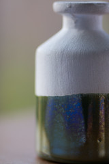 Half glazed (HBroom) Tags: macromondays glaze