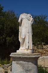 DSC_0242 (mark.greefhorst) Tags: cyprus northerncyprus salamis ancientworld roman statue