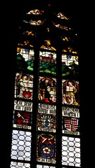 Rothenburg ob der Tauber (Alemania). Iglesia de Santiago. Vidriera (santi abella) Tags: rothenburgobdertauber rotemburgo rothenburg baviera bayern alemania germany vidrieras