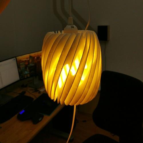 3d printed Lampshade Air - by Dizingof - 3Dizingof.com-