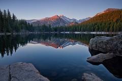 Randle C. Conrad ~  Longs Peak from Bear Lake (randle.c.conrad) Tags: randle c conrad landscape