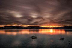 april (15 of 1) (Odar Gofot) Tags: lake lakescape sky heaven clouds water reflection norway spring sunset sunrise landscape