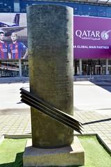 A FRANCESC MIRÓ-SANS, (2001) de ROSA SERRA (Yeagov C) Tags: 2017 barcelona catalunya futbolclubbarcelona francescmirósans presidentdelfutbolclubbarcelona rosaserra 2001