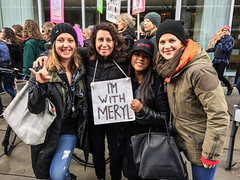 IMG_0278 (justine warrington) Tags: womens march womensmarch womensmarchonwashington washington pink pussy hats pinkpussyhat protest signs trump 45th presidential election january 21st 2017 potus resist resistance is fertile