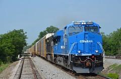 Conrail Heritage ES44AC NS 8098-22R (southernrailway7000) Tags: norfolksouthernrailroad conrailheritagees44acns8098