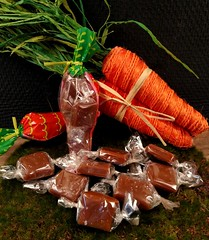 Easter Salted Caramels (IrishMomLuvs2Bake) Tags: carrots caramels sweets salted candy easter fun gifts sugar macrodesserts