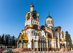 Take Me To Church (DVchigarev) Tags: church temple sochi russia canon canon70d 24105l usm panorama outdoor architecture sky