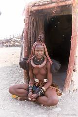 Young Himba Woman 8855 (Ursula in Aus) Tags: africa himba himbavillage namibia otjomazeva